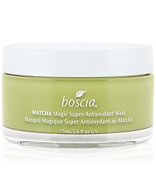 boscia Matcha Magic Super-Antioxidant Mask, 2.6 oz.