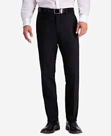 Men's Slim-Fit Shadow Check Dress Pants