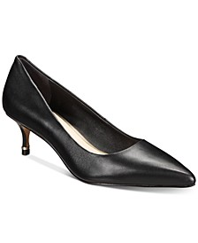 Morgan Kitten-Heel Pumps