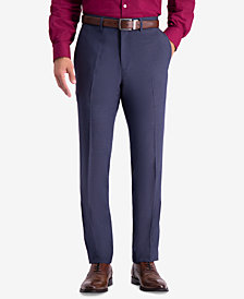 Kenneth Cole Reaction Men's Slim-Fit Stretch Premium Textured Weave Dress Pants