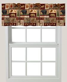 "Lodge Collage 60""x18"" Window Valance"