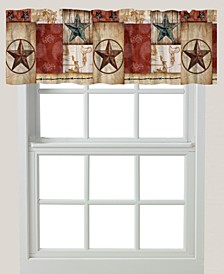 "Rodeo Patch 60""x18"" Window Valance"