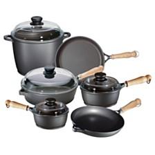 Berndes Tradition 10pc Cast Aluminum Cookware Set