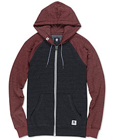 Element Men's Meridian Colorblocked Raglan-Sleeve Full-Zip Hoodie