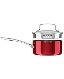 Architect® Non-Stick 2.5-Qt. Pour & Strain Saucepan & Lid, Created for Macy's