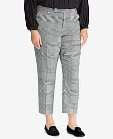 Lauren Ralph Lauren Plus Size Plaid Pants