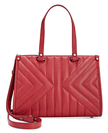 I.N.C. Cissy Quilted Satchel, Created for Macy's