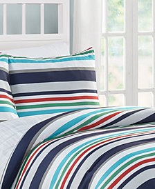 VCNY Home Cosmic Stripe Comforter Set Collection