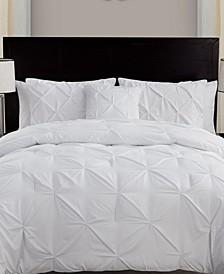 Carmen 4-Pc. Pintuck Queen Comforter Set