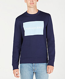 Calvin Klein Jeans Men's Institutional Logo Long-Sleeve Sweatshirt