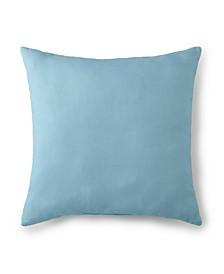 """Seascape Square Cushion 20""""x20"""" - Solid Aqua"""