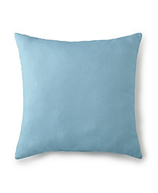 "Seascape Square Cushion 20""x20"" - Solid Aqua"
