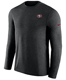 Nike Men's San Francisco 49ers Coaches Long Sleeve Top