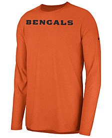Nike Men's Cincinnati Bengals Player Long Sleeve Top