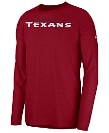 Nike Men's Houston Texans Player Long Sleeve Top