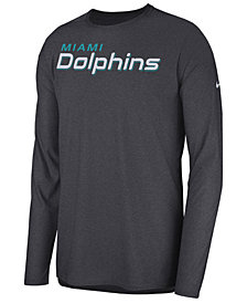 Nike Men's Miami Dolphins Player Long Sleeve Top