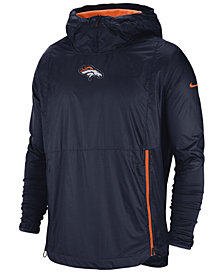 Nike Men's Denver Broncos Lightweight Alpha Fly Rush Jacket