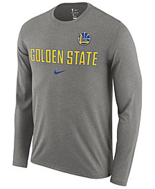 Nike Men's Golden State Warriors Essential Facility Long Sleeve T-Shirt