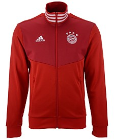 adidas Men's Bayern Munich Club Team 3 Stripe Track Jacket