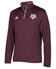 adidas Men's Texas A&M Aggies Team Iconic Quarter-Zip Pullover