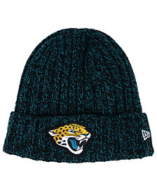 New Era Women's Jacksonville Jaguars On Field Knit Hat