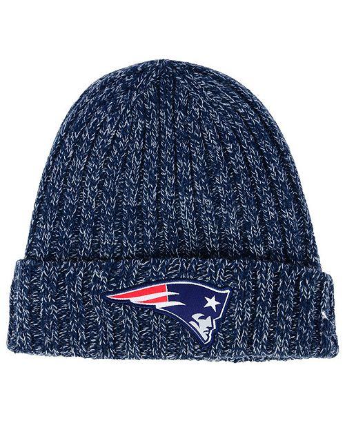 great fit a9803 1f8c5 ... Hat  New Era Women s New England Patriots On Field Knit ...