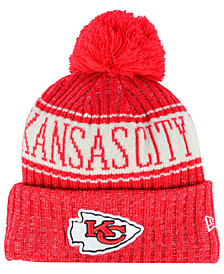 New Era Boys' Kansas City Chiefs Sport Knit Hat
