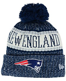 New Era Boys' New England Patriots Sport Knit Hat