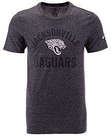 Nike Men's Jacksonville Jaguars Marled Gym Arch T-Shirt