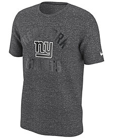 Nike Men's New York Giants Marled Gym Arch T-Shirt