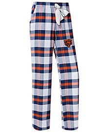 Concepts Sport Women's Chicago Bears Headway Flannel Pajama Pants