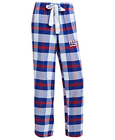 Concepts Sport Women's New York Giants Headway Flannel Pajama Pants
