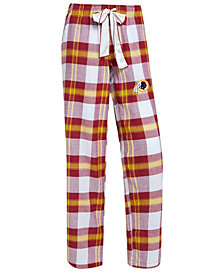Concepts Sport Women's Washington Redskins Headway Flannel Pajama Pants