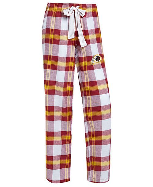 a7be1e49d Concepts Sport Women's Washington Redskins Headway Flannel Pajama ...