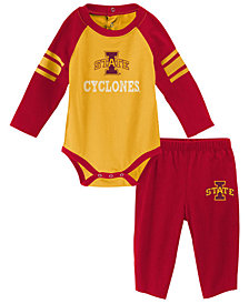 Outerstuff Iowa State Cyclones Future Starter Creeper Pant Set, Infants (0-9 Months)