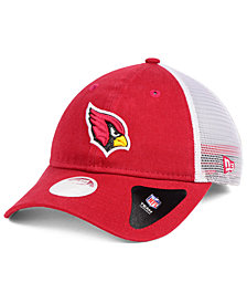 New Era Women's Arizona Cardinals Trucker Shine 9TWENTY Cap