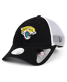 New Era Women's Jacksonville Jaguars Trucker Shine 9TWENTY Cap