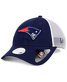 New Era Women's New England Patriots Trucker Shine 9TWENTY Cap