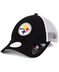 New Era Women's Pittsburgh Steelers Trucker Shine 9TWENTY Cap