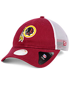 New Era Women's Washington Redskins Trucker Shine 9TWENTY Cap