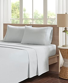 Madison Park Percale 3-PC Twin Cotton Sheet Set
