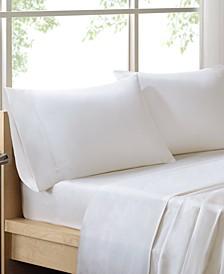 Sleep Philosophy 300 Thread Count Liquid Cotton 4-PC Full Sheet Set