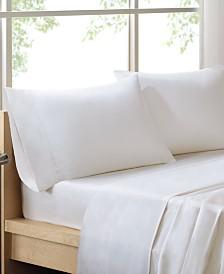 Sleep Philosophy 300 Thread Count Liquid Cotton 4-PC Queen Sheet Set