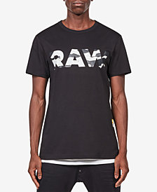 G-Star RAW Men's Tahire Camo Logo T-Shirt, Created for Macy's