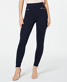 I.N.C. Moto Leggings, Created for Macy's
