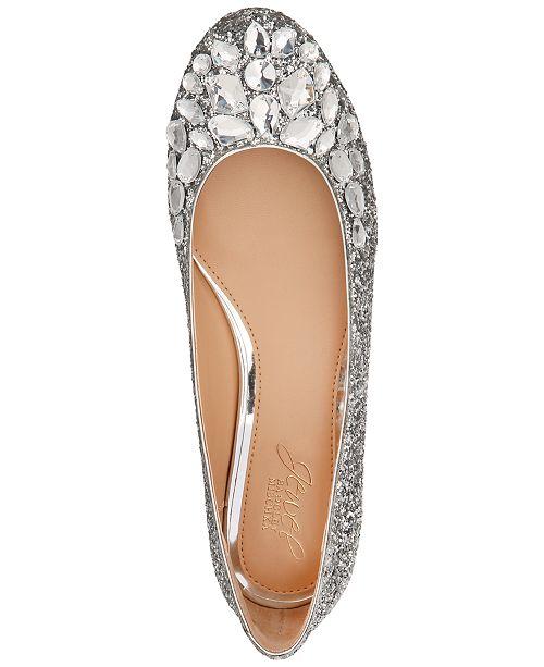 bf1bb6d5d6b6 Jewel Badgley Mischka Mathilda Flats   Reviews - Flats - Shoes - Macy s
