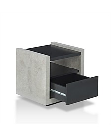Gare Industrial Storage End Table