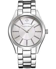 Timothy Stone Women's 'Charme' Crystal Embellished Boyfriend Bracelet Watch