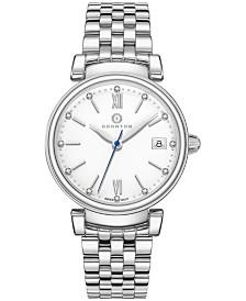 Granton Women's 'Imperial' Diamond Accented Swiss Bracelet Watch