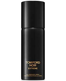 Men's Noir Extreme All Over Body Spray, 150 ml